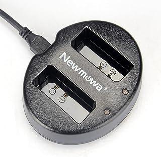 Newmowa USB Cargador Doble para Canon LP-E10EOS Rebel T3 T5 1100D 1200D Kiss X50