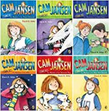 Cam Jansen 6 Book Set (Mystery of the UFO, Mystery of the Monster Movie, Ghostly Mystery, First Day