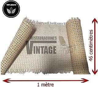 Restauraciones Vintage Rejilla Mimbre para reparación de sillas Calidad A la máxima Calidad y resitencia en Rejilla Veget...