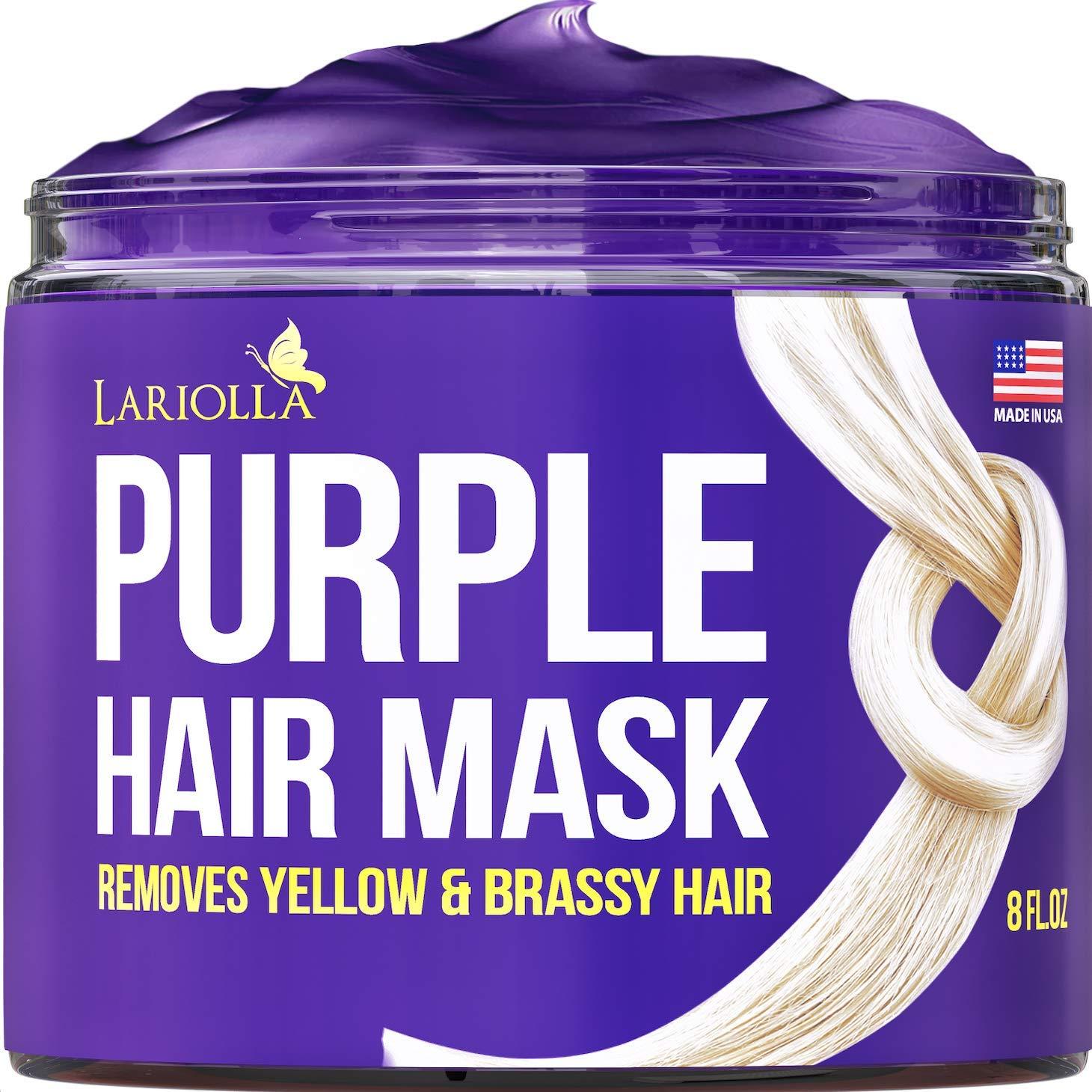 Purple Hair Mask for Blonde with Finally resale start - Jojoba Platinum Oil Raleigh Mall Keratin