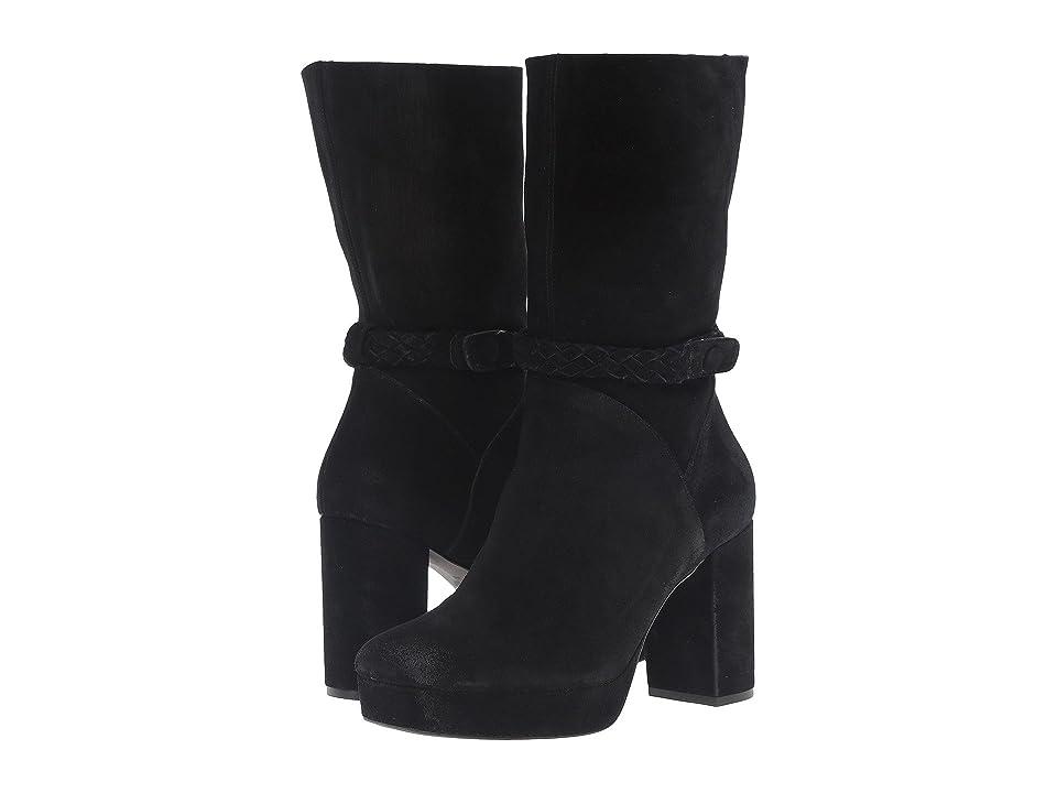 Free People Iris Mid Boot (Black) Women