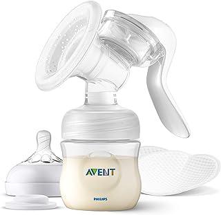 Philips Avent Manuell bröstpump - Enkelt att pumpa och mata ditt barn - En storlek som passar alla* - Mjuk pump som härmar...