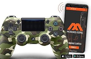 PS4 PRO Rapid Fire Custom MODDED Controller Exclusive Unique Designs - CUH-ZCT2U (Camo Green)