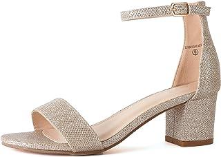 72951a0df48 Amazon.com  Gold - Platforms   Wedges   Sandals  Clothing
