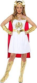 Smiffys Officially Licensed She-Ra Glitter Print Costume