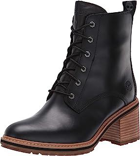 حذاء Timberland Sienna برقبة عالية ضد الماء بسحاب جانبي للسيدات أنيق