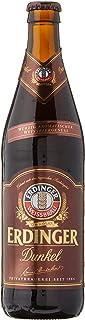 Erdinger Dunkel Dark Wheat Beer Bottle, 500ml (Pack of 12)