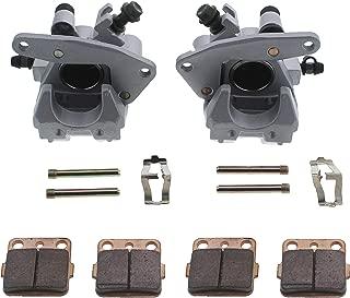 Race Driven Front Left Right Brake Calipers Pads for Honda TRX250EX TRX300EX TRX400EX TRX400X 250 300 400 EX