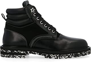 Luxury Fashion | Jimmy Choo Men ODINUUYBLACK Black Leather Ankle Boots | Spring-summer 20