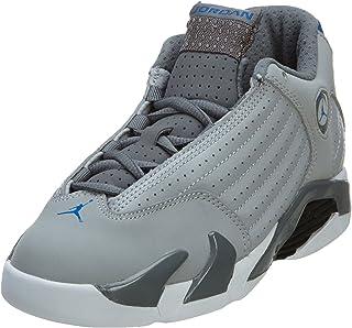 5a92a884c5 Jordan Unisex bebé 312092-004 Zapatillas Infantiles Nike Jordan 14 Retro BP  Gris Lobo/