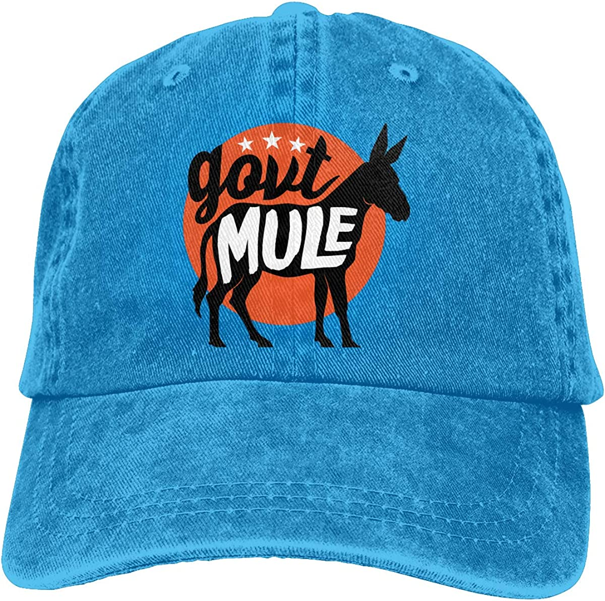 Govt Mule Unisex Popular Casquette Hat Vintage Adjustable Music Band Baseball Caps Black