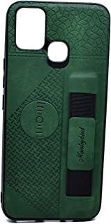 Leather Cover With Holder For Infinix Smart 5 (Green)