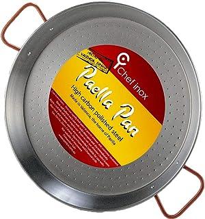 LA IDEAL - Paellera valenciana para 4 personas, 30 cm, Gris