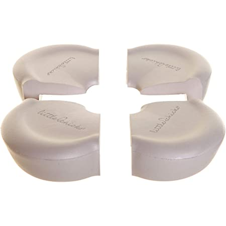 Little Chicks Extra Large Soft Corner Cushions Guard - Table Corner Protectors - 4 Pack - Model CK033