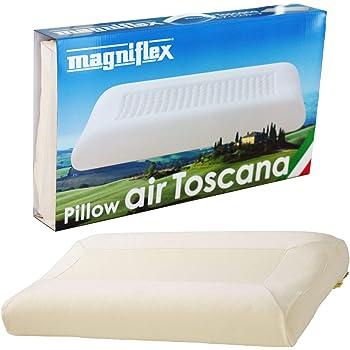 マニフレックス 枕 高反発 エア・トスカーナ ホワイト 70 x 40 x 9(10) cm Magniflex Air Toscana