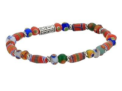 John Hardy Classic Chain Bead Bracelet with Borneo Beads (Silver) Bracelet