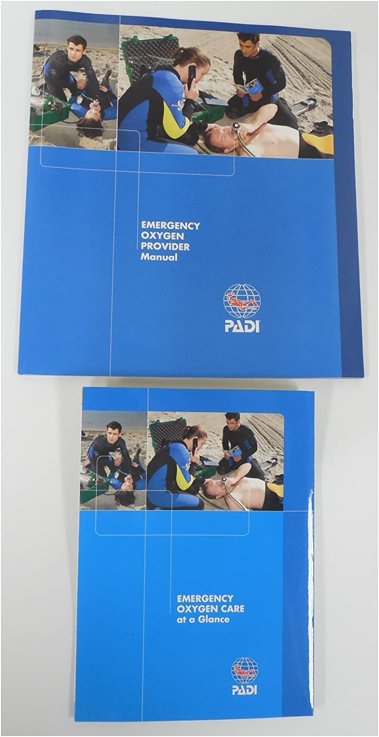 Padi Low price Emergency Oxygen National products Book