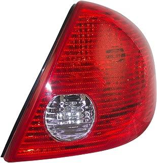 Passengers Taillight Tail Lamp Lens Replacement for Pontiac G6 Sedan 15242808 GM2801201 AutoAndArt
