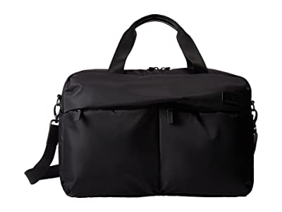 Lipault Paris City Plume 24 Hour Bag (Black) Bags