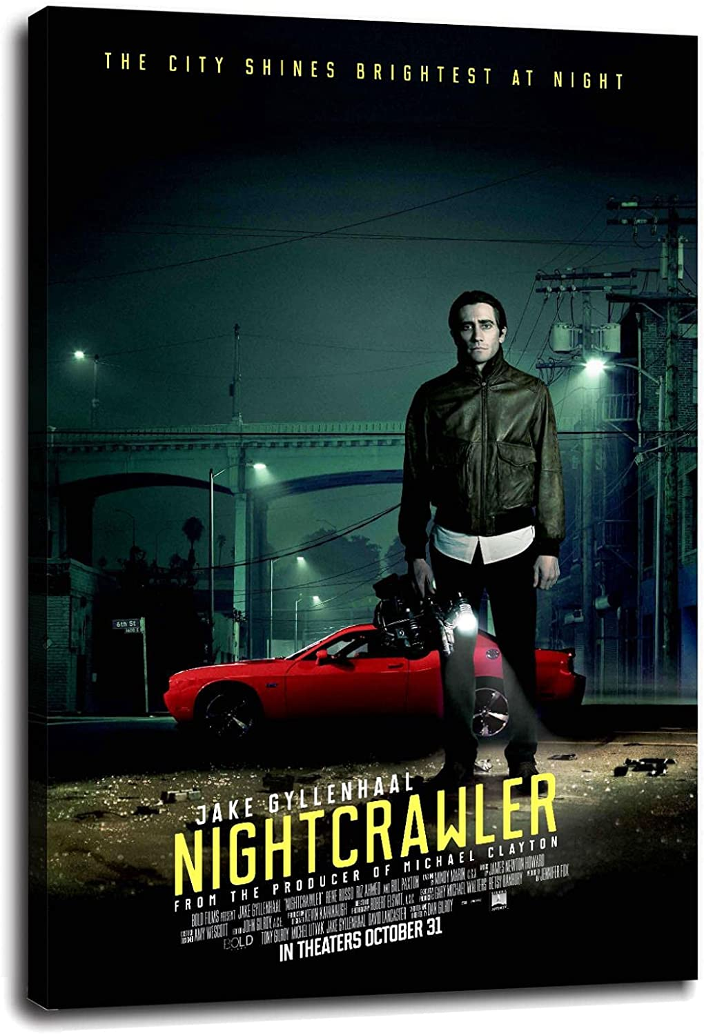 Nightcrawler Poster Canvas Prints Wall Fashionable F NEW before selling Art
