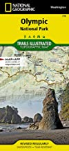 Olympic National Park Hiking Map