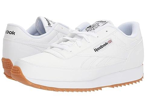 728fb442009 Reebok Renaissance Ripple S In White Black Gum