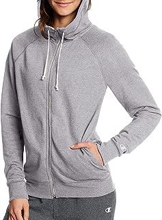 Champion Womens W0941 French Terry Full-Zip Jacket Long Sleeve Fleece Jacket