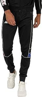 Authentic 222 Banda Slim Fit Track Pants in Black/White/Violet/Blue