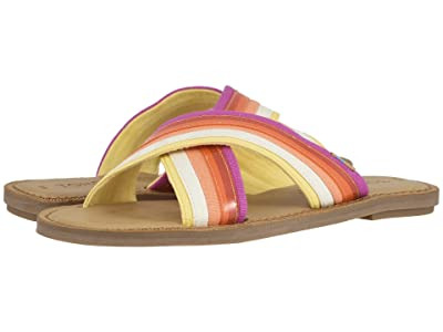 TOMS Viv (Persimmon Multi Canvas/Translucent Stripe) Women