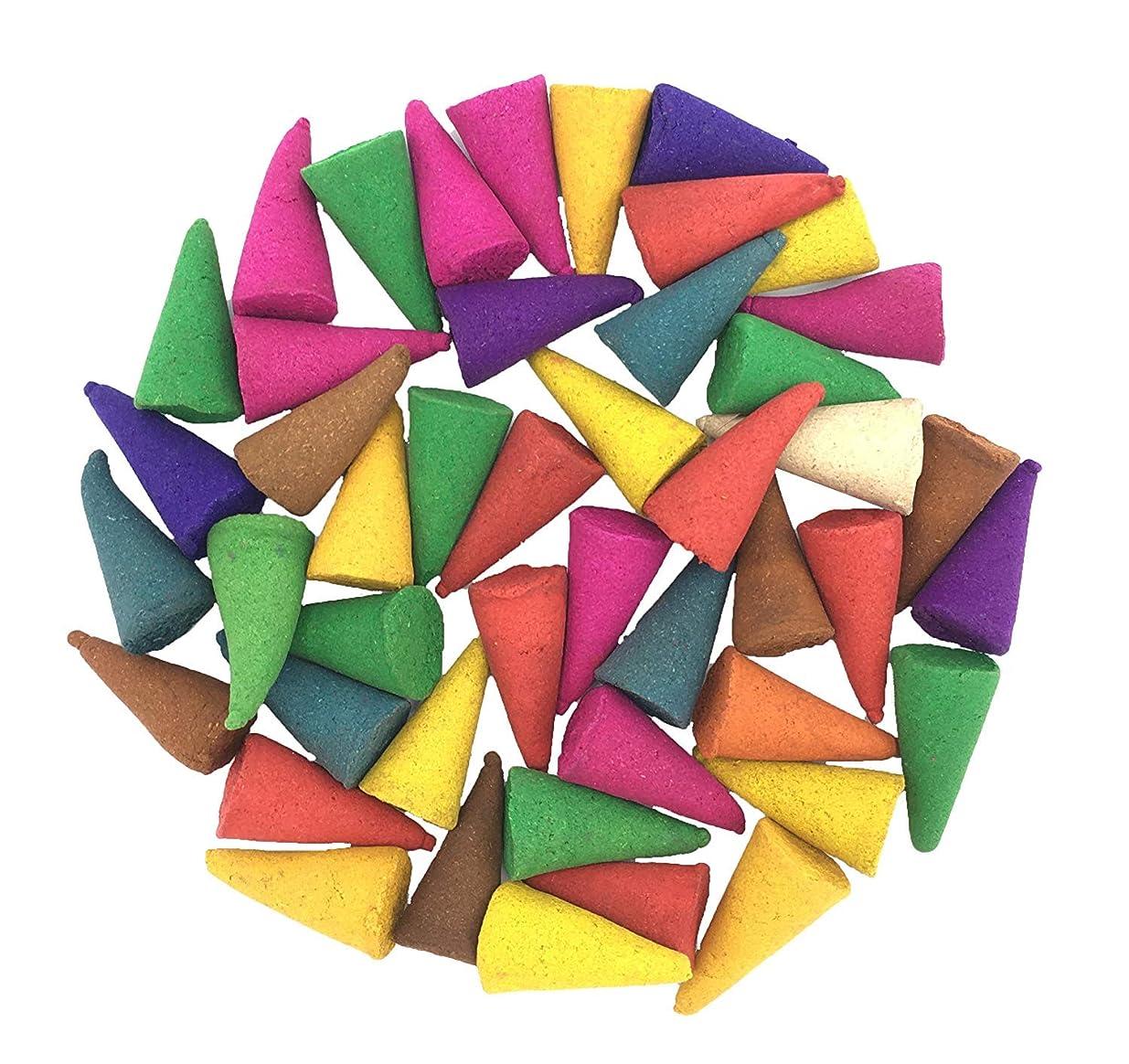 月曜フットボール祈りIncense Conesミックスのさまざまな香り(パックof 100?Cones )タイ製品