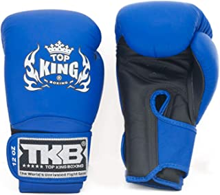 Top King Gloves Color Black White Red Blue Gold Size 8, 10, 12, 14, 16 oz Design Air, Empower,...