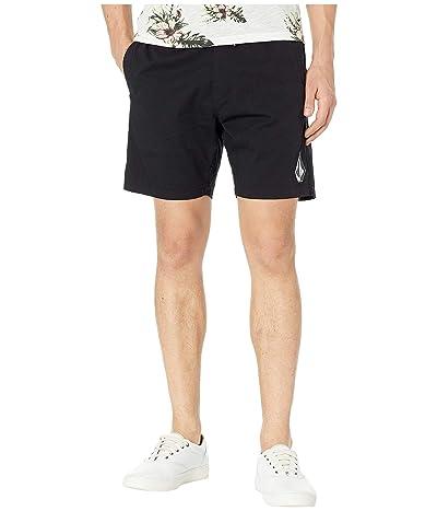 Volcom Deadly Stones Shorts (Black) Men