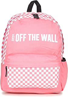 vans checkerboard backpack pink