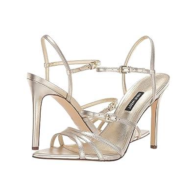 Nine West Gilficco Strappy Sandals (Gold) Women