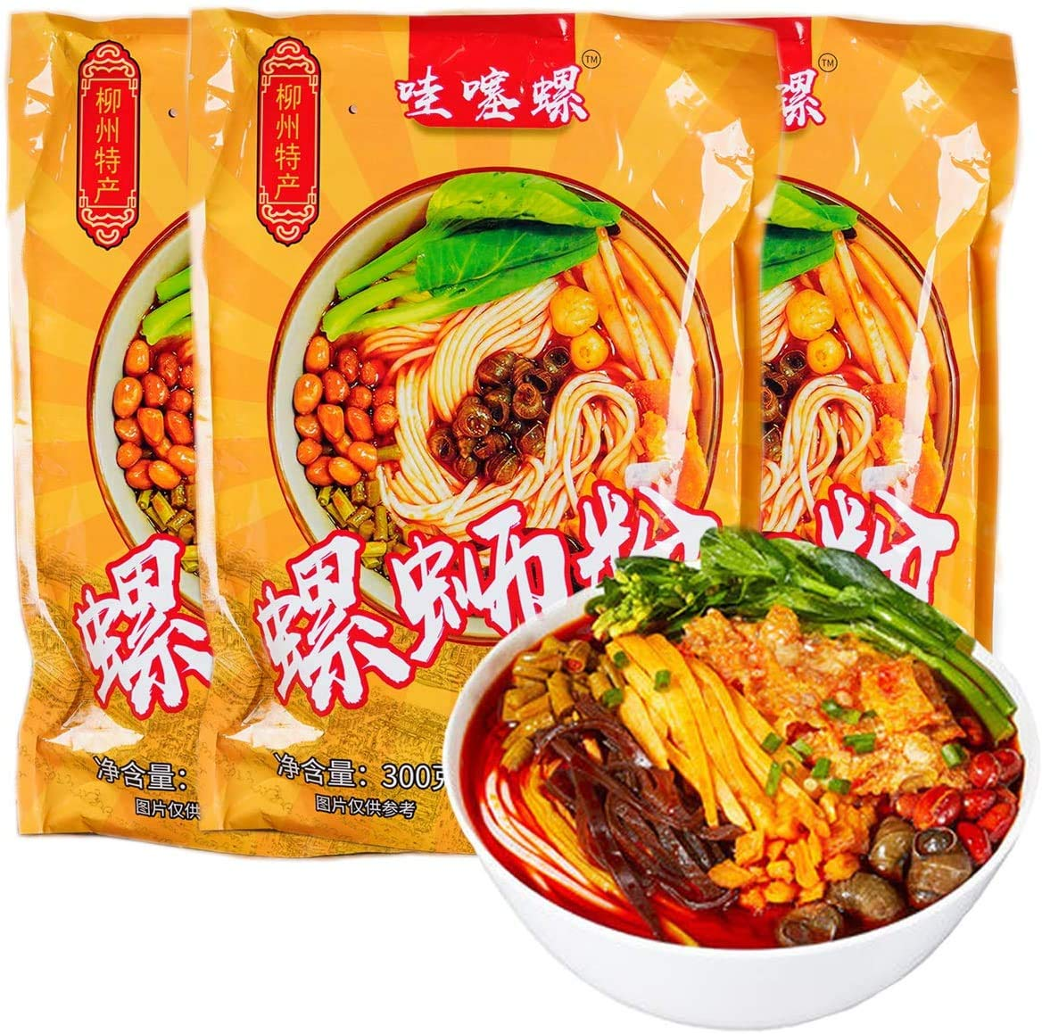 Liuzhou 螺蛳粉 Snail Rice Noodles luo fen Cheap mail order sales Limited price Guang si