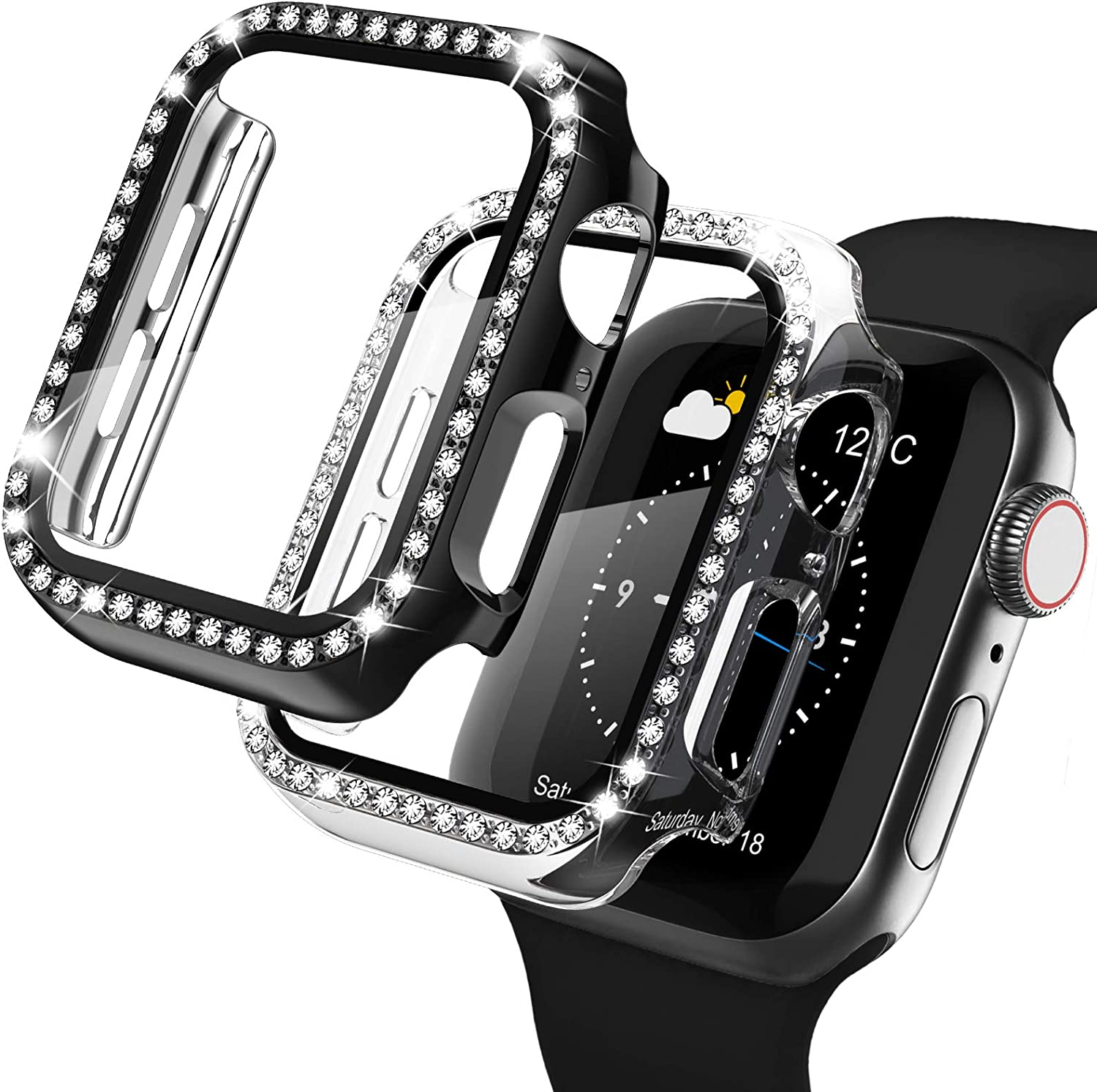 Finally popular brand Recoppa Apple Watch Case Excellent with Protector Screen 4 for