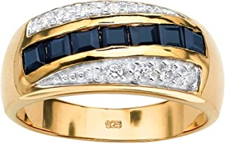 Best mens sapphire rings yellow gold Reviews