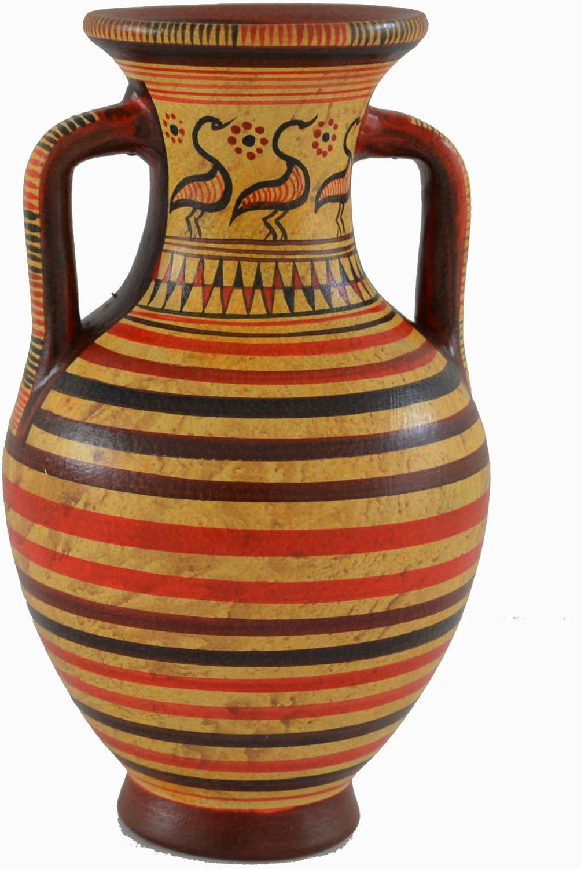 Special price Estia Creations Minoan Pottery Mini Vase Dealing full price reduction Des Amphora Geometric -