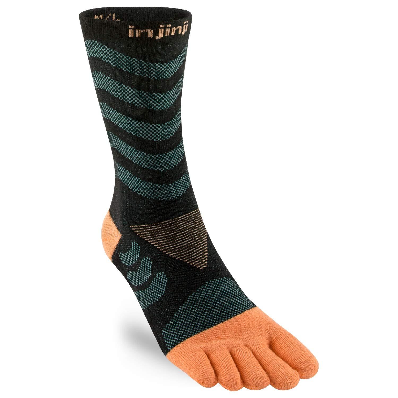 Injinji女性の靴下5本指ランニングハイキングランニングソックス厚い暖かさを防ぐために耐摩耗性防寒クールマックス
