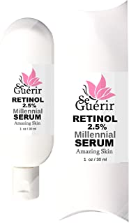 Skin Clearing Serum, Powerful Acne Treatment, Prevent Breakouts, Pimples, Scarring and Diminish Pores, Blackheads. 1 oz Bottle.