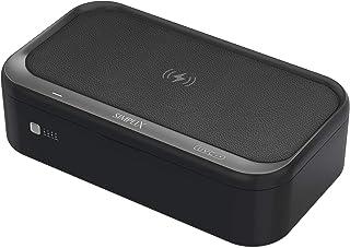 SIMPLIX UV Phone Sterilizer Box Wireless Charger | UVC Sterilizer for Smartphone, Beauty & Makeup Tools, Keys, Glasses | U...