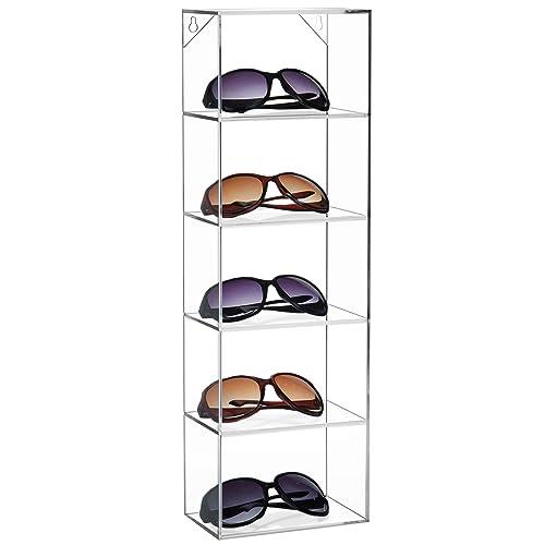 5 Pairs Counter Sunglasses Display Stand Frame Organizer Eyeglasses Rack