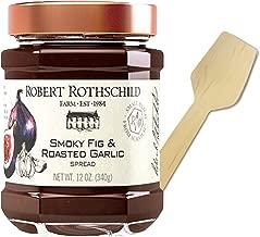 Robert Rothschild Smoky Fig and Roasted Garlic Spread 12 Oz. Bonus Tasting Spoon Included