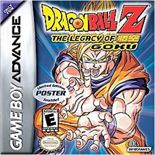 Dragon Ball Z: The Legacy of Goku - Game Boy Advance GBA Game