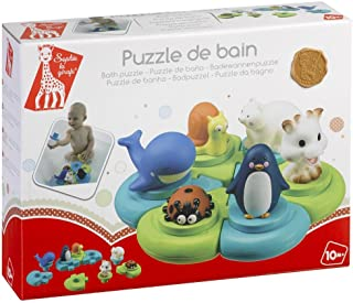 Sophie the giraffe Bath Puzzle