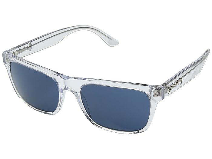 Burberry  0BE4268 (Transparent/Blue) Fashion Sunglasses