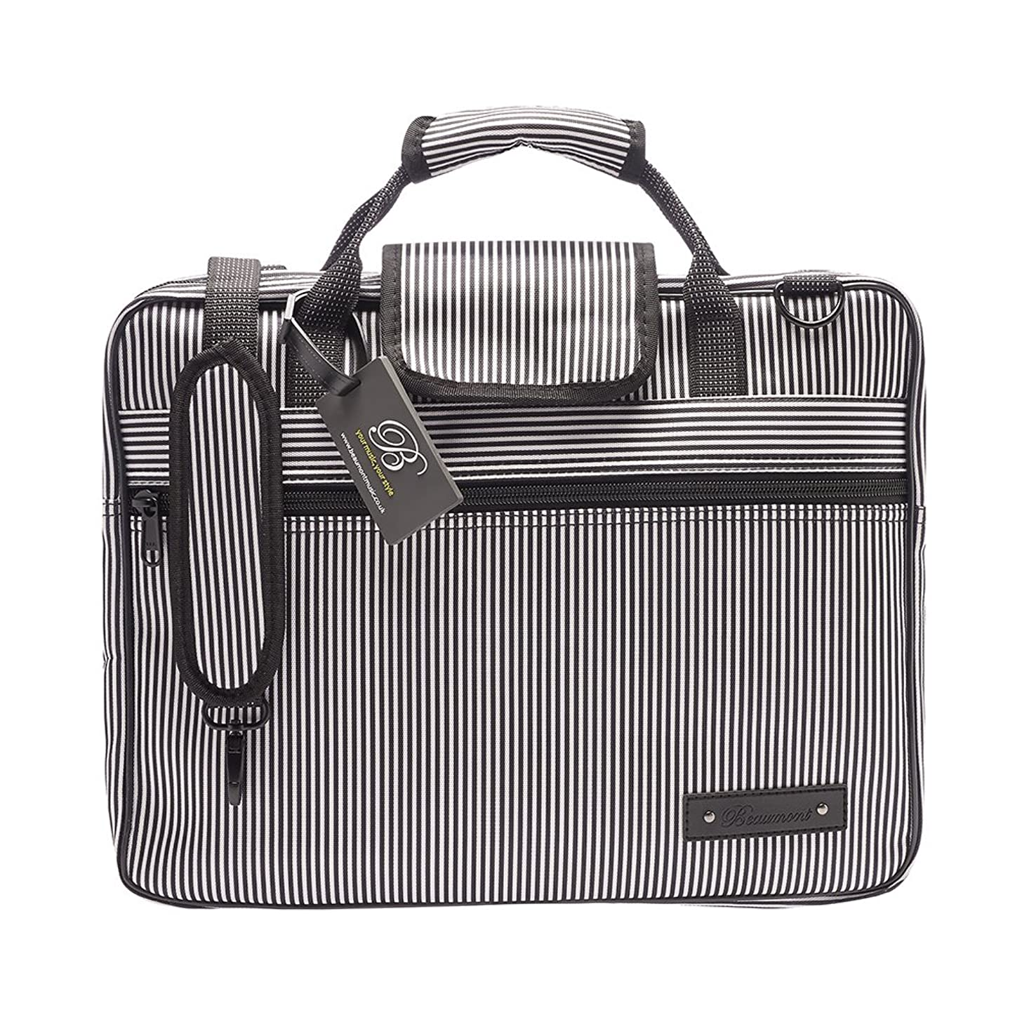 Sheet Music Bag - Satchel Design - Beaumont Pinstripe Portfolio
