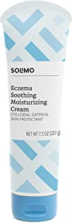 Amazon Brand - Solimo Eczema Soothing Moisturizing Cream with Colloidal Oatmeal, 7.3 Ounce