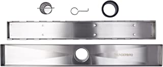 Linear Shower Drain Grate, Tile Insert, 24-inch, 304-Grade Stainless Steel (18 Gauge), ICC-ES Certified (UPC)