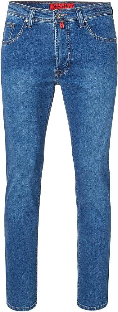 Pierre cardin - jeans  da uomo , 62% poliestere, 16% cotone, 20% viscosa, 2% elastan 3196 237 88